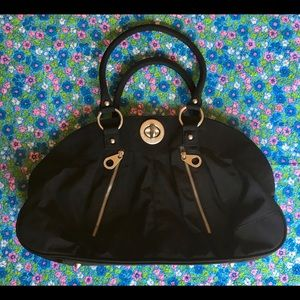 Baggallini Large Black Nylon Tote